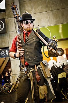 best steampunk costumes - Google Search