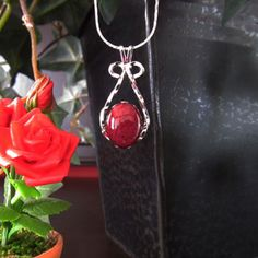 Rose Bead Jewelry - Pendants