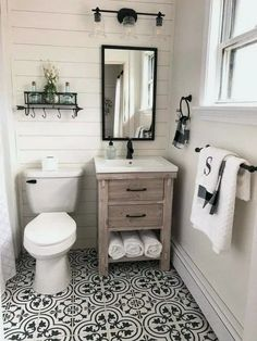 If you are looking for Small Bathroom Makeover Ideas, You come to the right place. Below are the Small Bathroom Makeover Ideas. This post about Small Bathroo. Bathroom Farmhouse Style, Bathroom Styling, Small Bathroom, Modern Bathroom, Amazing Bathrooms, Small Farmhouse Bathroom, Downstairs Bathroom, Bathroom Design, Bathroom Renovation