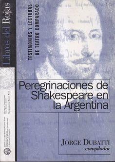 Peregrinaciones De Shakespeare En La Argentina - $ 79,99 en MercadoLibre