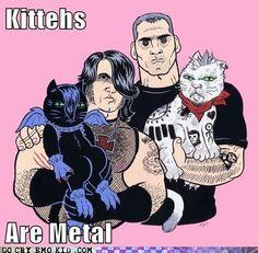 Glenn #Danzig + Henry #Rollins + #KITTENS = Funny.