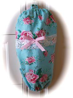 Shabby Chic kitchen bag holder. | Flickr - Photo Sharing!