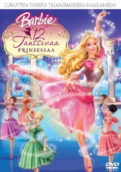 Barbie in the 12 Dancing Princesses - 2006 Enter the vision for. Animation Type and Films Original is name Barbie in the 12 Dancing Princesses. Barbie Movies, Disney Movies, Barbie Dvd, Barbie Song, Girly Movies, Free Barbie, Disney Characters, Fictional Characters, Barbie Poster