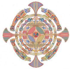 Celtic Medallion - Cross Stitch Pattern