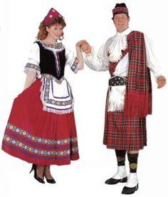 Traditional scottish clothing