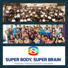 Certifications SBSB Levels 1-2 Singapore and Master Class Malaysia #superbodysuperbrain #certification #personaltrainercertification #groupexercise #gym #brain #singaporefitness #malaysiafitness