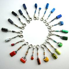 Lucky Capacitor and Resistor Electronics Charms by Techcycle.deviantart.com on @DeviantArt