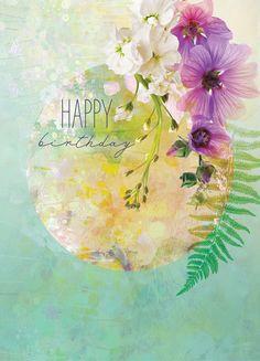 Birthday Wishes Flowers, Happy Birthday Wishes Cards, Birthday Blessings, Happy Birthday Quotes, Birthday Cards, Happy Birthday Flower, Happy Birthday Pictures, Birthday Prayer, Happy B Day