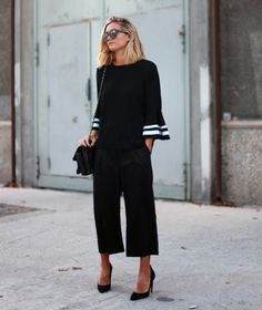 culottes and heels