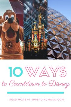 You've booked your family's Disney World, Disneyland, or Disney Cruise Line vacation! Now what? How will you pass the coming weeks and months before your magical adventure? There are so many fun ways to countdown to Disney vacations! You can get the whole family involved to build excitement for your visit. #DisneyCountdown #VacationCountdown #CountdowntoDisney #Disneyfun #Familyfun Disney World Planning, Disney World Trip, Disney World Resorts, Disney Vacations, Disney World Tips And Tricks, Disney Tips, Disney Fun, Walt Disney, Vacation Countdown