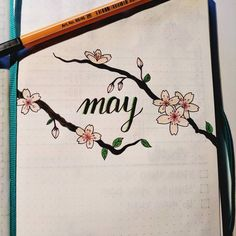 - @made.by.sofia #bujo #may #month #mois #mai #bulley journal
