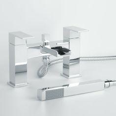 �109.95 Quadra Waterfall Bath Shower Mixer Tap