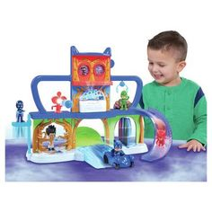 Argos PJ Masks Headquarters Playset
