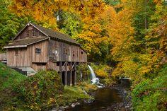 Cedar Creek Grist Mill ~ Woodland, Washington ~ Jesse Estes Photography
