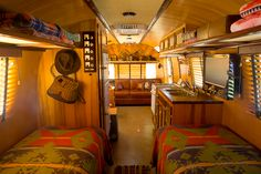 Ralph Lauren airstream.  Check out the TV.