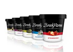 Brook Farm Ice Cream Pot