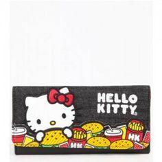 7bf555380016 Hello Kitty Wallet  Burger KT Hello Kitty Items