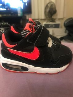 c773d9069340b Toddler Nike AIR MAX Athletic Shoes Baby Girl (Pink Black) - Size 4C   fashion  clothing  shoes  accessories  babytoddlerclothing  babyshoes  (ebay link)