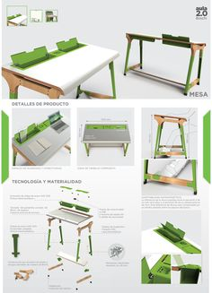 Aurora - mobiliario escolar para todos los niveles by Lewita Malizia at Coroflot.com Classroom Furniture, School Furniture, Kids Furniture, Outdoor Furniture Sets, Furniture Design, Chair Design, Industrial Design Portfolio, Portfolio Design, Architecture Desk