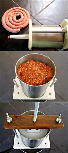 Make Delicious Homemade Sausage with this DIY Sausage Stuffer!
