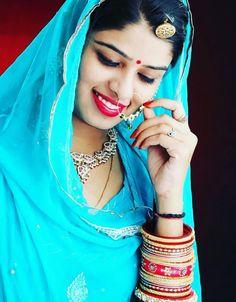 Baisa Raj Hukam in Blue Poshak . Indian Wedding Outfits, Indian Outfits, Rajasthani Dress, Rajputi Dress, Indian Beauty Saree, Western Outfits, Indian Girls, Indian Dresses, Blouse Designs