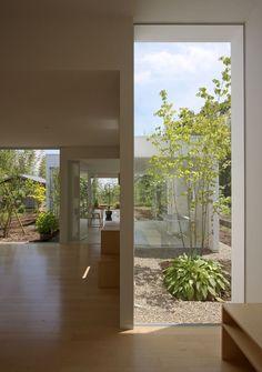House in the Garden in Sakura, Japan by YAMAZAKI KENTARO DESIGN WORKSHOP
