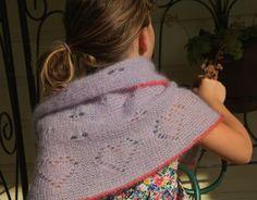 Molly's Heart Shawl-Tunisian Crochet pattern on Craftsy.com