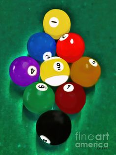 Billiards Art - Your Break 1 - Various subjects for the Man Cave