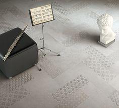 #Contempora #porcelain #tiles by #Cerdomus (Booth L9007) #madeinitaly #coverings2014 #geometric #pattern #concrete #cerdomusceramiche #inspiration #mood #project