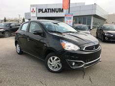 This 2017 Mitsubishi Mirage looking beautiful in the pearl black paint color with alloy wheels.  Learn more about the mirage at www.platinummitsubishi.ca