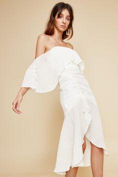 Indian Fashion Modern, Minimal Wedding Dress, Midi Dresses Online, Shop Now, Summer Outfits, Ivory, Feminine, Wedding Dresses, Collection