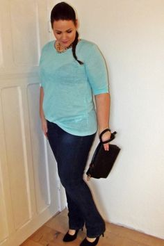 Casual Outfit; Plus Size