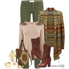 Autumn green for everyday fashion