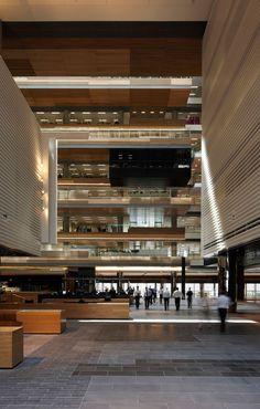 ANZ Centre by HASSELL.