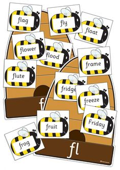 Phonics Resources – includes printable phonic sounds charts, phonics games, activities and word cards. Phonics Sounds Chart, Homophones Words, Consonant Blends, Phonics Games, Word Sorts, Sorting Activities, Beehive, First Grade, Teacher Resources