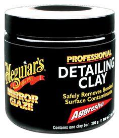 Meguiar's C-2100 Professional Detailing Clay, Aggressive ... https://www.amazon.com/dp/B0009IQYEO/ref=cm_sw_r_pi_dp_x_9JBKyb0G0P818