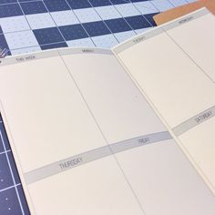 Weekly Planner No Grid Standard Size by GrowingUpGoddess on Etsy