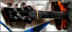 Ravens West Guitars RWG RG450 Hollow Lefty No:8-26 Amber Flame