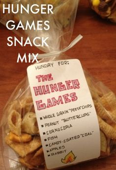 Hungry for The Hunger Games snack mix - totally doing this for the next party!!
