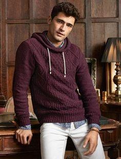 Ideas moda hombre invierno outfits for 2019 Sean O'pry, Outfits Casual, Warm Outfits, Mode Outfits, Men Casual, Fashionable Outfits, Sweater Fashion, Men's Fashion, Autumn Fashion