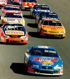 The # 44 of Kyle Petty. I always loved his Hot Wheels Schemes.