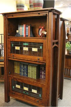 Amish Furniture - Amish Oak Furniture - Cherry Furniture - Solid Mission and Shaker Furniture - Solid American Furniture Furniture Design, Bookcase, Furniture, Oak Furniture, Shaker Furniture, Home Office Furniture Design, Cherry Furniture, American Furniture, Amish Furniture