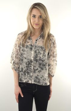 Lizard Thicket - Falling Clouds Top, $34.50