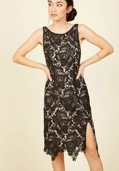 BB Dakota Mastery of Magnificence Lace Dress | Mod Retro Vintage Dresses | ModCloth.com