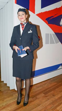 British Airways cabin crew by Count-Phoenix on DeviantArt British Airways Cabin Crew, Airline Uniforms, International Airlines, London Girls, Flight Attendant, In Pantyhose, Business Women, Plus Size Fashion, Sexy