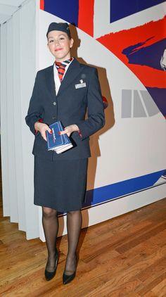 British Airways cabin crew by Count-Phoenix on DeviantArt British Airways Cabin Crew, Flight Girls, Airline Uniforms, Female Pilot, London Girls, Flight Attendant, Business Women, Sexy, Plus Size Fashion