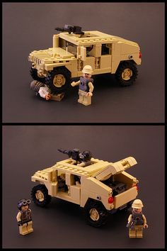 Lego Humvee with instructions