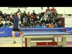 Over the top Ping Pong Celebration. Dance