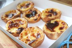 Portuguese Custard Tarts This recipe has great visual as well as written instructions