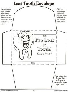FREEBIE! Lost Tooth Certificate. Fun rhyming poem